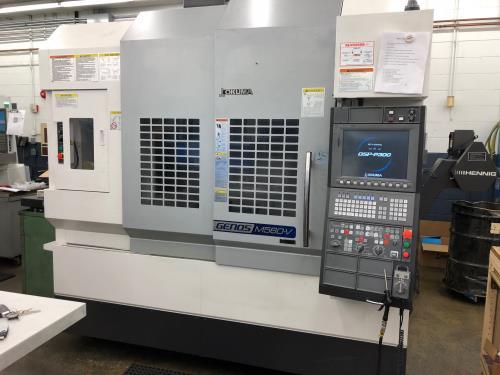 Machinery Resources International - For Sale - 2017 OKUMA GENOS M560 V